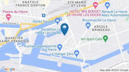 Aparthotel Adagio access Le Havre Les Docks Map