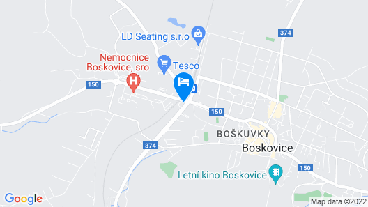 Hotel Slavia Map