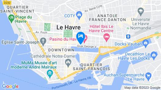 Hotel Spa Pasino Map