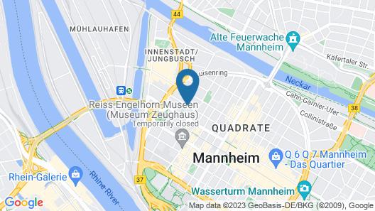 Mercure Mannheim Am Rathaus Map