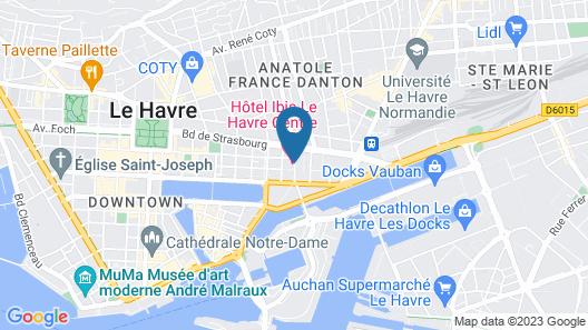 ibis Le Havre Centre Map