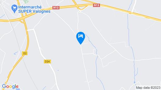 Manoir de Savigny Map
