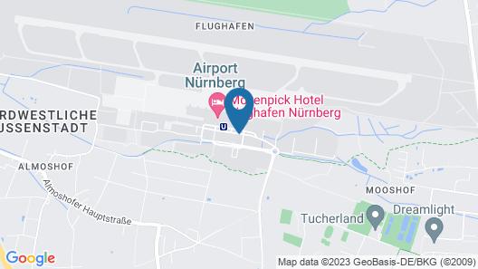 Moevenpick Hotel Nuernberg Airport Map