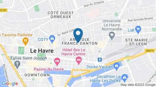 Anatole France Hotel Map