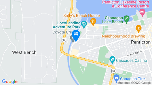 Days Inn & Conference Centre by Wyndham Penticton Map