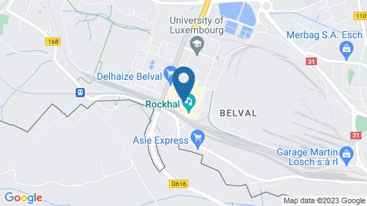 ibis Esch Belval Map