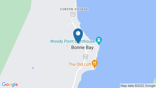 The Rooms at Woody Point Map