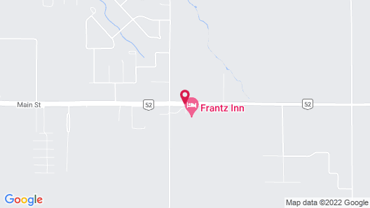 Frantz Inn Map