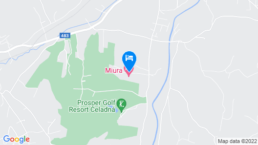Miura Hotel Map