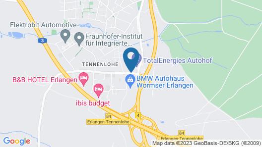 Select Hotel Erlangen Map