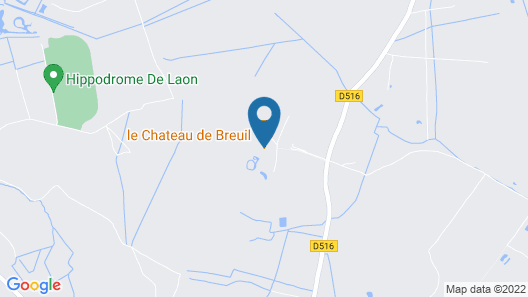 Gîte Lorengrain  Map