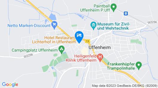 Hotel Lichterhof Map