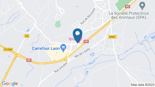 ibis Laon Map