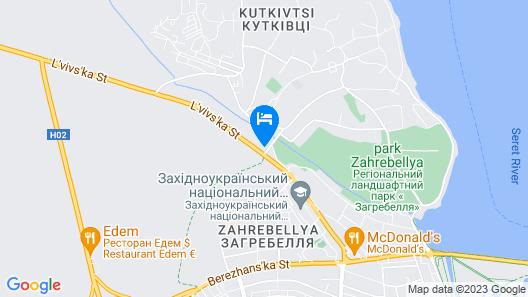 Hotel Geneva Map