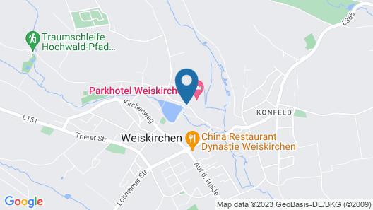 Parkhotel Weiskirchen Map
