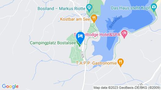 Campingplatz Bostalsee Map