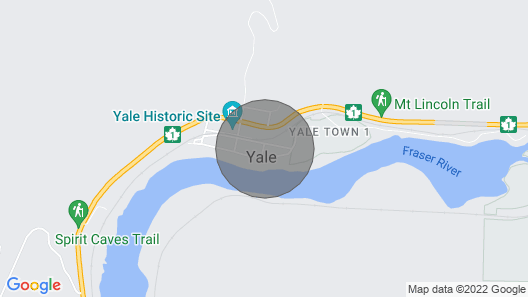 Ciulla Vista in the Heart of Yale BC Map