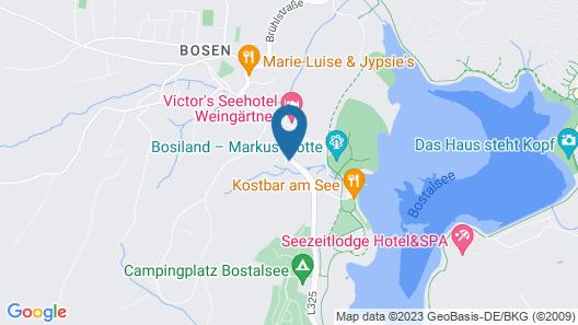 Ferienwohnungen Weis am Bostalsee Map