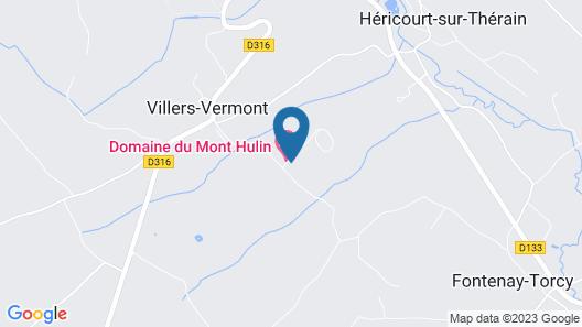 Domaine du Mont Hulin - Appartements Map