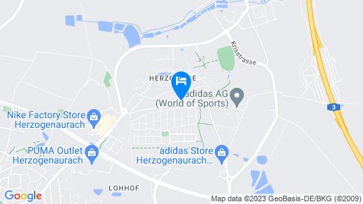 NOVINA HOTEL Herzogenaurach Herzo-Base Map