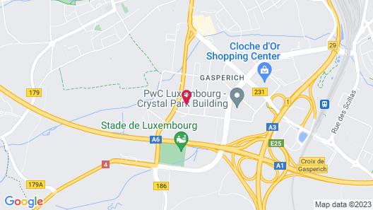 INNSiDE by Melia Luxembourg Map