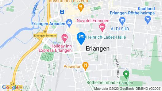 NH Erlangen Map