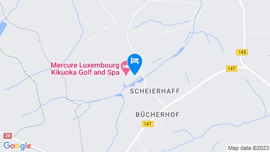 Hotel Mercure Luxembourg Kikuoka Golf & Spa Map