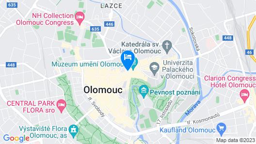 Miss Sophie's Olomouc Map