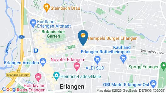 Zeitwohnhaus Suite Hotel & Serviced Apartments Map