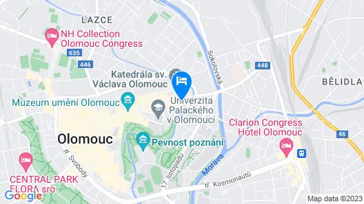 Hotel Palác Map