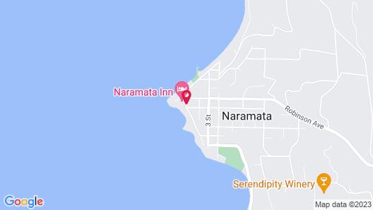 Naramata Heritage Inn & Spa Map