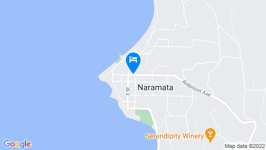 Naramata Courtyard Suites Map