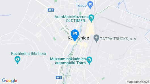 Interhotel Tatra Map