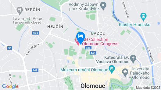 NH Collection Olomouc Congress Map