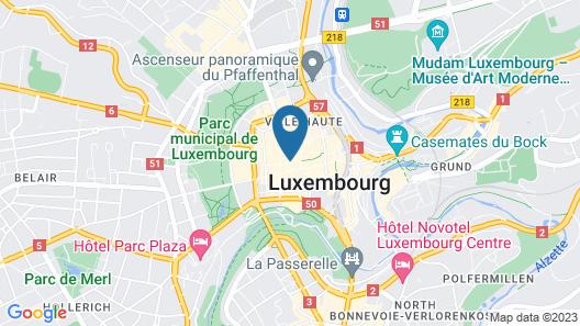 Hotel Le Place d Armes Map