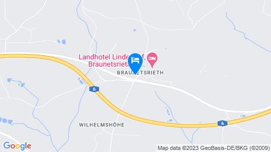 Landhotel Fuchsbau Map
