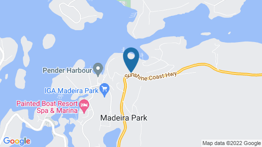 Pender Harbour Hotel Map
