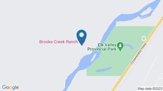 Brooks Creek Ranch Map