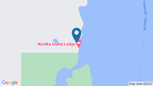 Nootka Island Lodge Map
