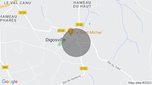 LA Buissonnerie Map