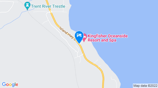 Kingfisher Oceanside Resort and Spa Map