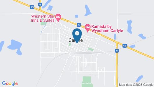 Ramada by Wyndham Carlyle Map