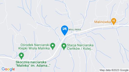 Hotel Vestina Map