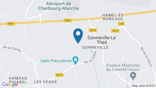 Maison de Vacances les Hortensias 6/8 Personnes Avec Jardin , Trampoline Map