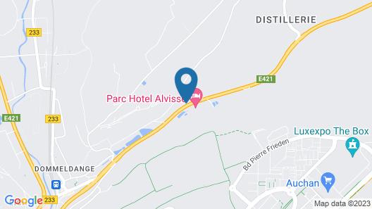 Alvisse Parc Hotel Map