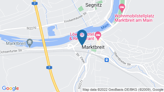 InHotel Mainfranken Map