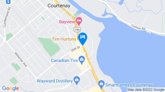 Travelodge by Wyndham Courtenay Map