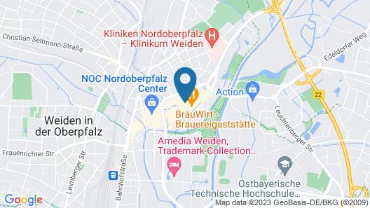 Altstadt Hotel Bräu Wirt Map