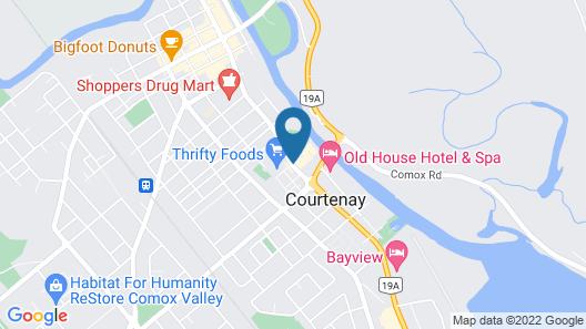 Best Western The Westerly Hotel Map