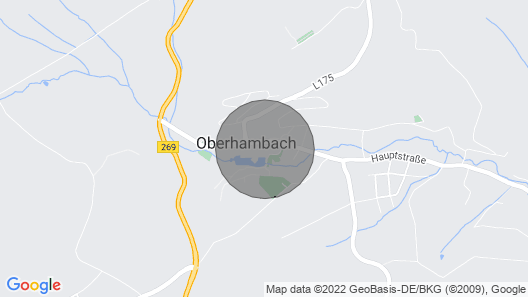 Vacation Home Hambachtal in Oberhambach - 4 Persons, 2 Bedrooms Map